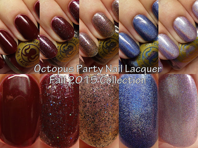 Octopus Party Nail Lacquer Fall 2015 Collection