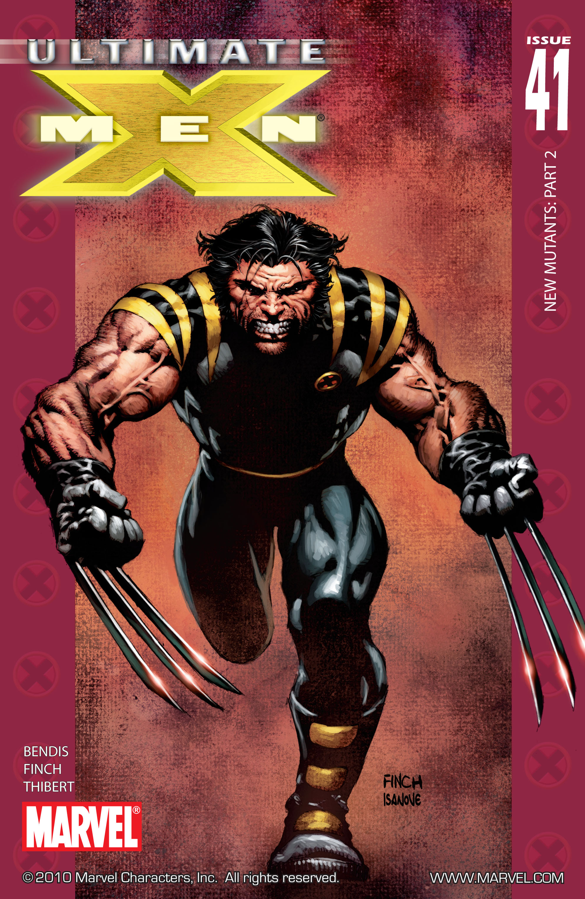 Read online Ultimate X-Men comic -  Issue #41 - 1