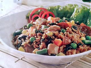 Gambar Resep Nasi Goreng Bayam