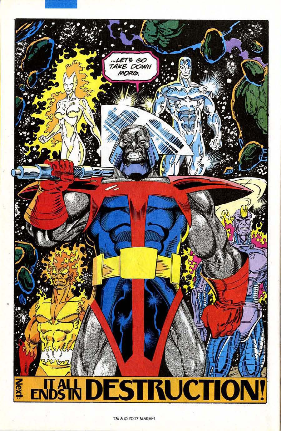 Read online Silver Surfer (1987) comic -  Issue #74 - 32