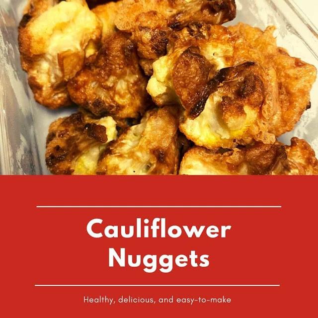 How to make cauliflower nuggets