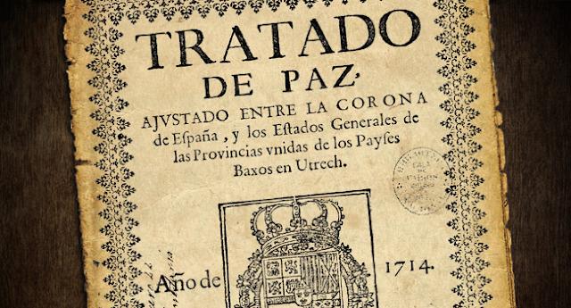 "Tratado de Utrecht ""dos"", por Víctor Arrogante"