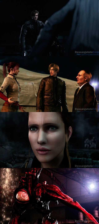 Resident Evil Degeneración (2008) HD 1080p Latino Trial