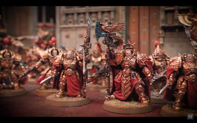 Trajann Valoris Adeptus Custodes