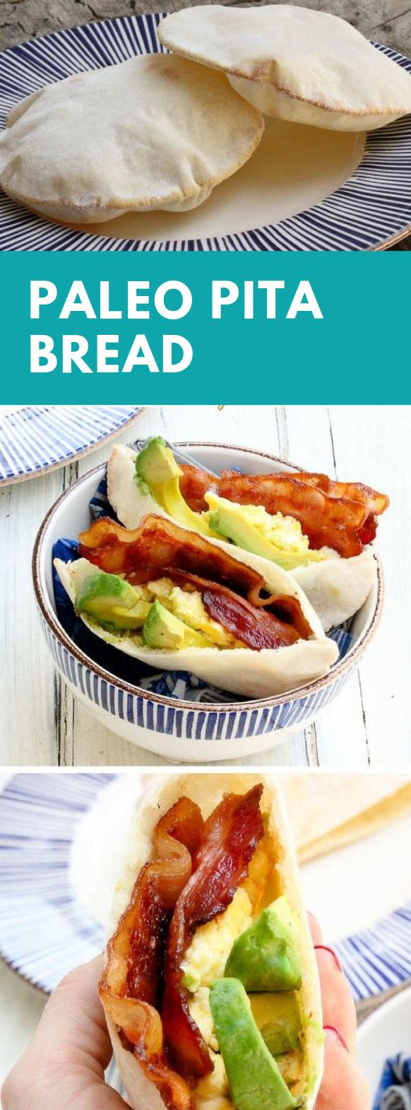 Paleo Pita Bread #diet #paleo