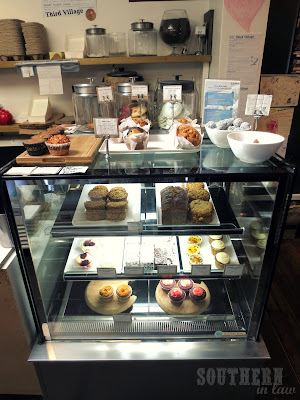 Third Village Cafe Review - Bakery Case