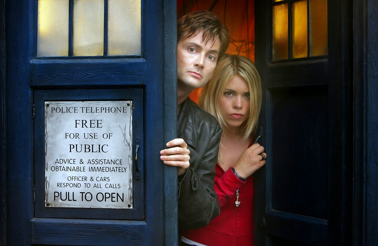 Doctor Who Starring David Tennant  And Billie Piper