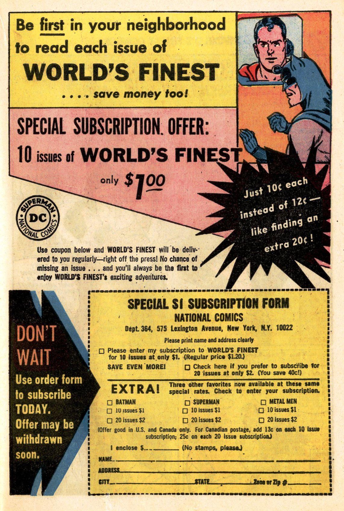 Read online World's Finest Comics comic -  Issue #141 - 23