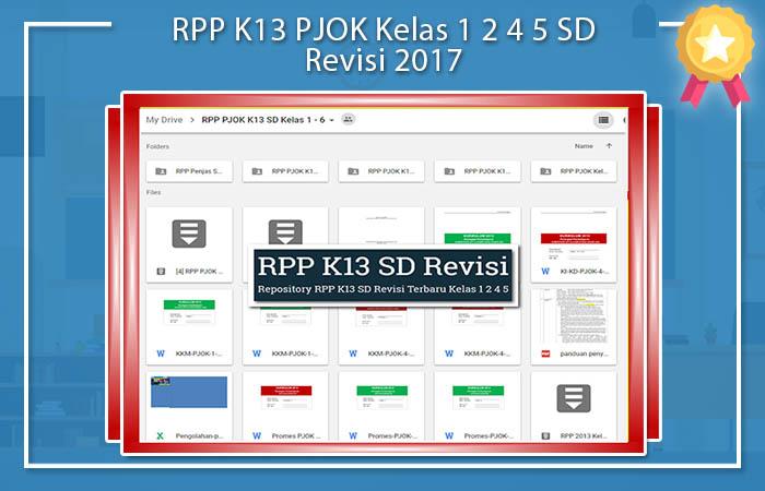 RPP PJOK Kurikulum 2013 SD