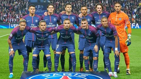 PSG ra sân với đội hình tốt nhất.