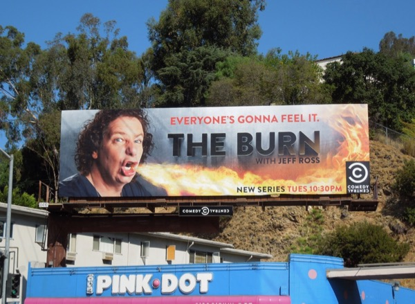 Burn Jeff Ross 2012 billboard