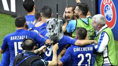 Laporan Pertandingan: Italia 2-0 Spanyol