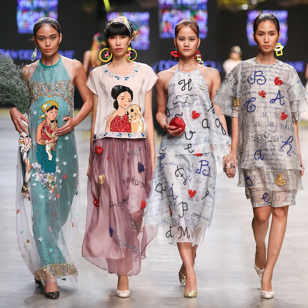 Vietnam International Fashion Week 2016- day 2- Thuy Design House