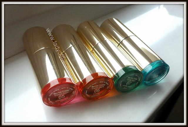 Clarins Instant Smooth Crystal Lip Balms