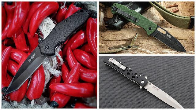 Składane noże - najciekawsze i najpopularniejsze marki. Folding knives - the most interesting and most popular brands.
