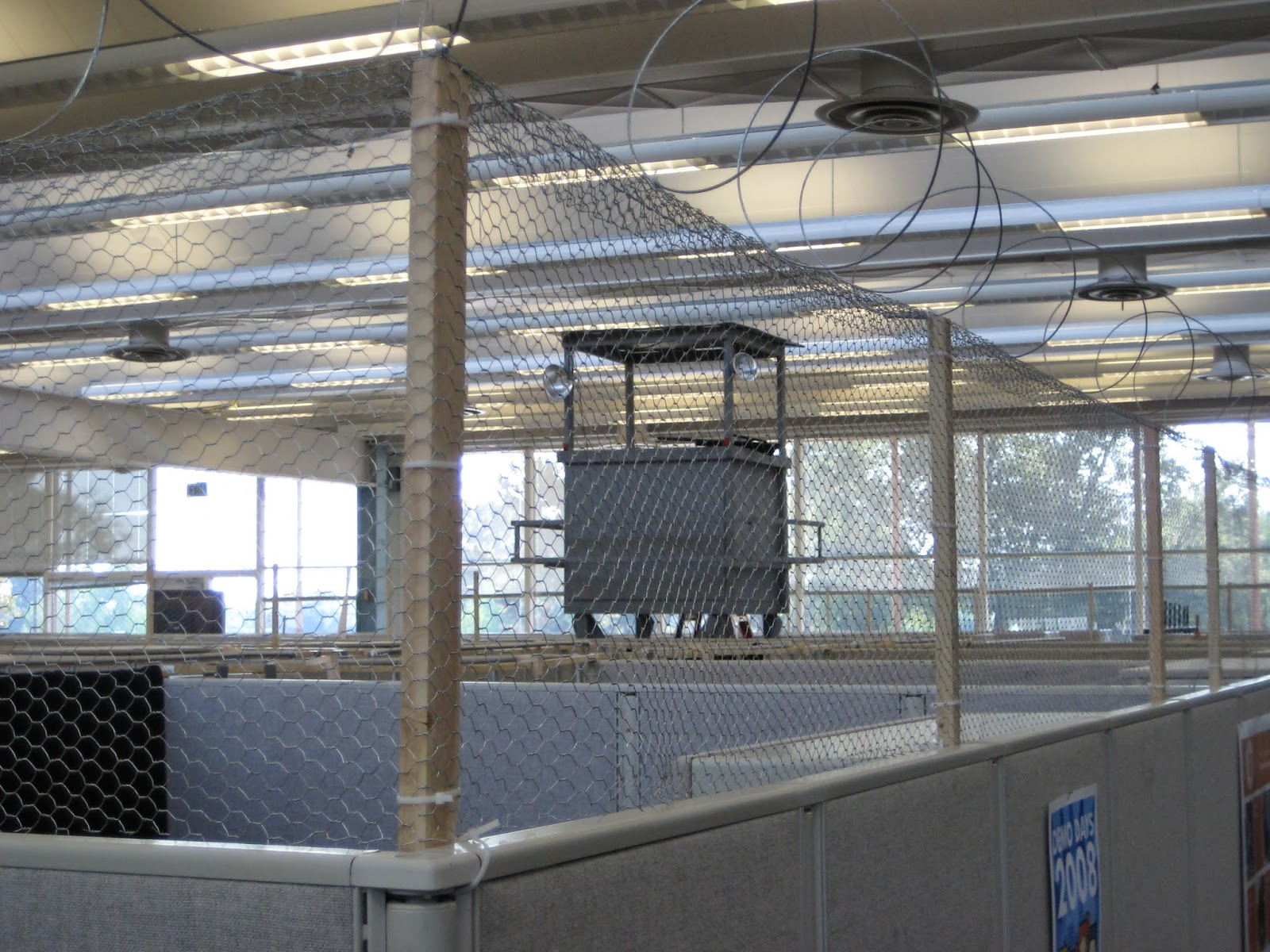 "Halloween at the Office: Halloween 2008: ""Prison"""