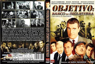 Carátula dvd: Objetivo: Banco de Inglaterra (1959) - Descargar Cine Clásico