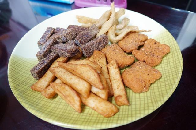 王牌健康素素食炸物