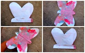 how to fold butterflies that actually fly- fun kids craft!