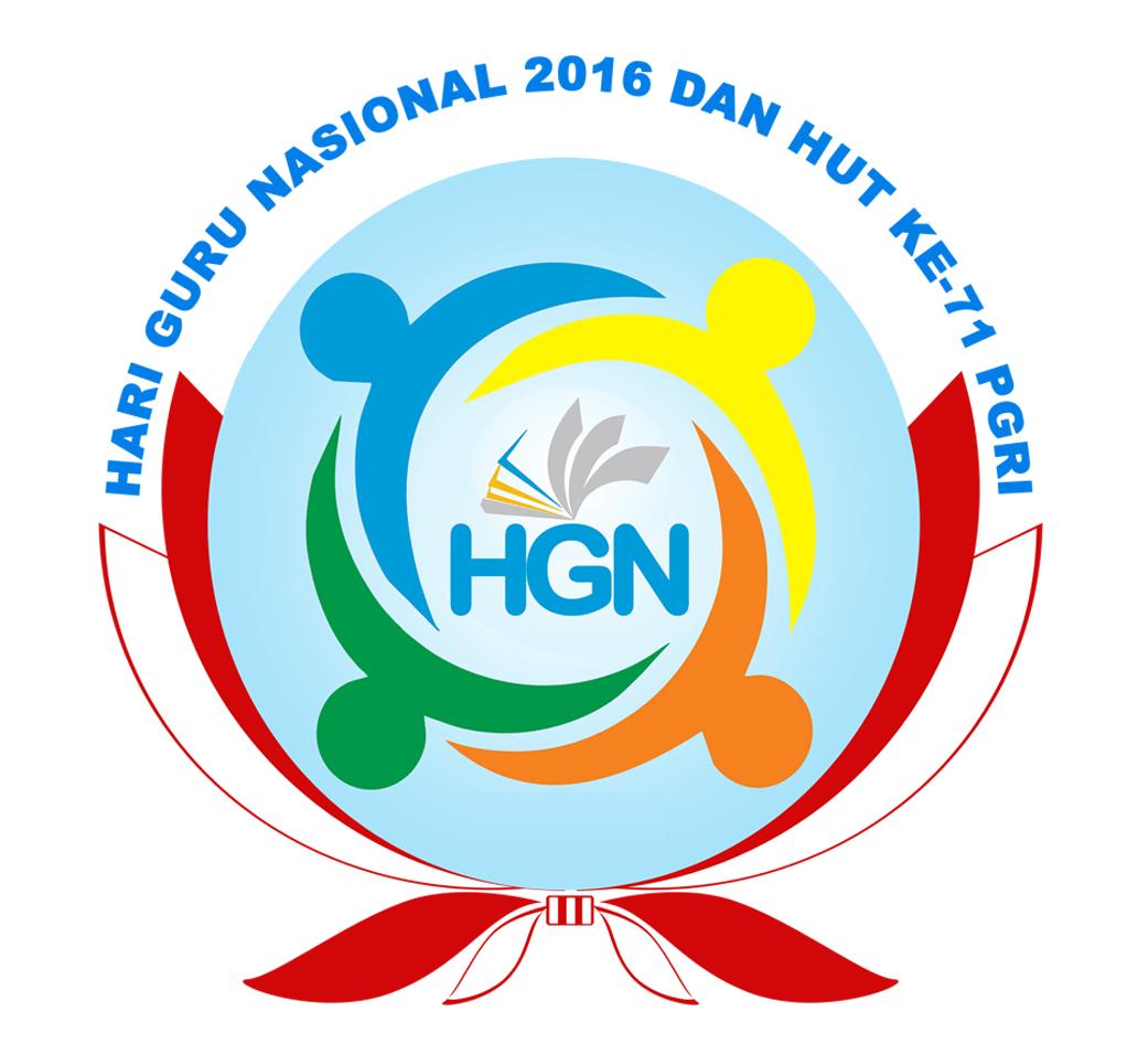 spanduk hari guru nasional tahun 2016 dan hut pgri ke71