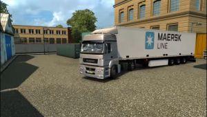 Schmitz Maersk Line Trailer