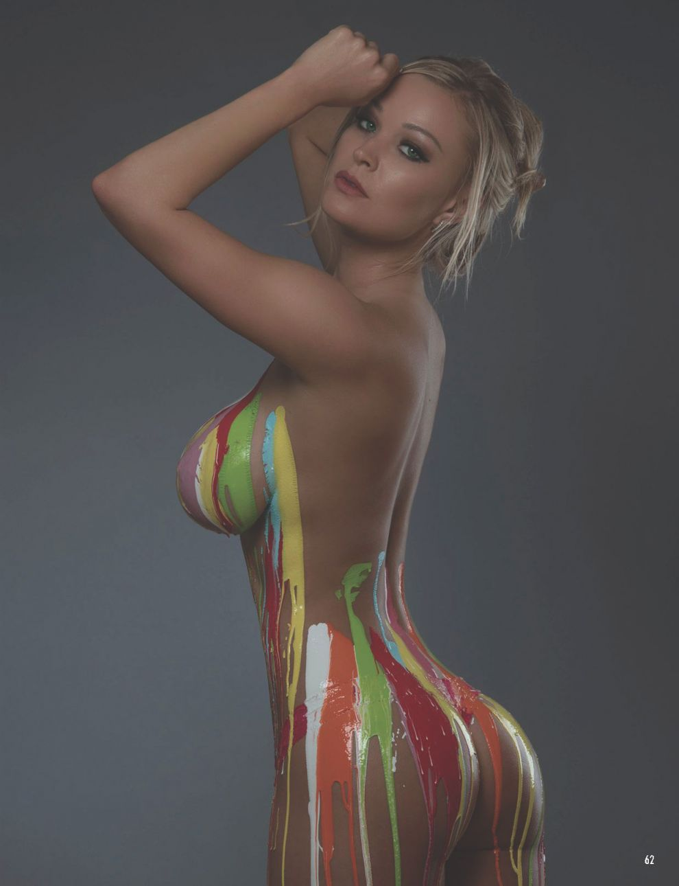 Apologise, but, Body paint women porn think