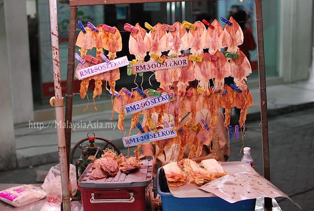 Kelantan Grilled Sotong