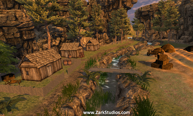 Scene Build – Harvest in Pine Valley (FREE Assets Only)