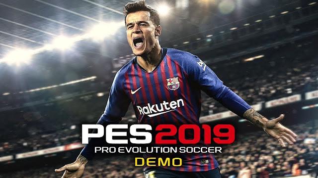 تحميل لعبة بيس 2019 pes ديمو للكمبيوتر بيس 2019 مجانا اصدار النسخة التجريبية اليوم PES 19 DEMO Download