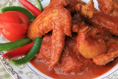 Resepi Ayam Masak Ros Merah!!