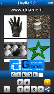 PACCHETTO 7 Soluzioni Trova la Parola - Foto Quiz con Immagini e Parole livello 12