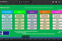 Aplikasi Rencana Kerja Madrasah (RKM) MTS Versi Terbaru Sesuai Juknis