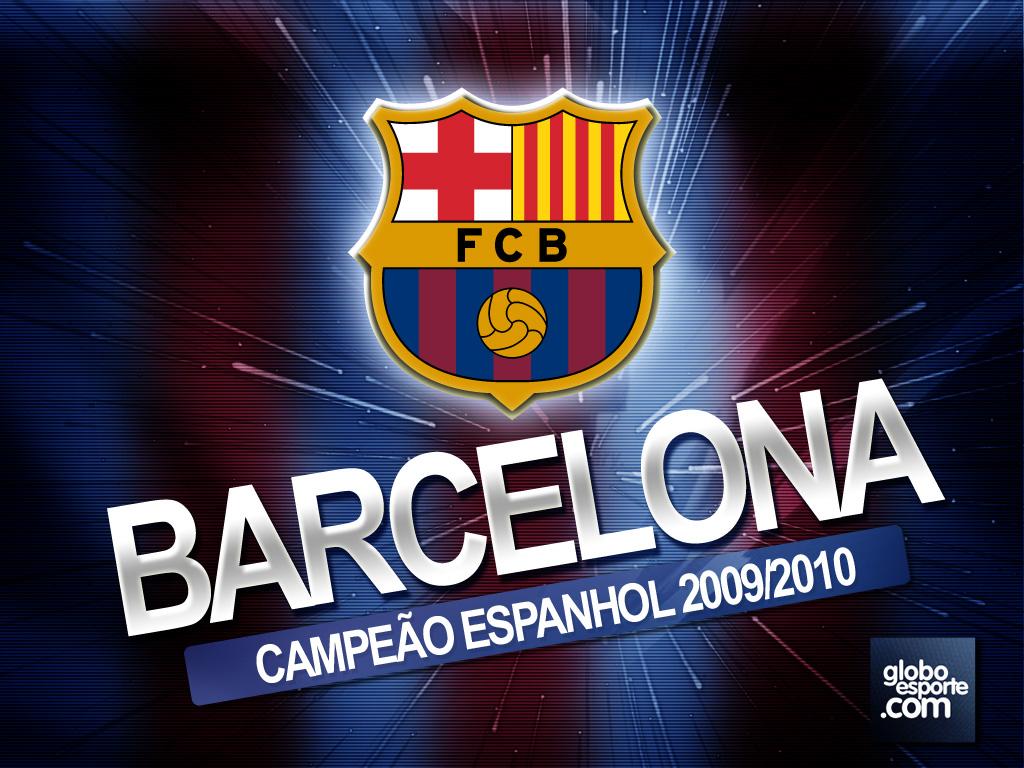 Wallpaper De Clubes : Papel De Parede Do Barcelona