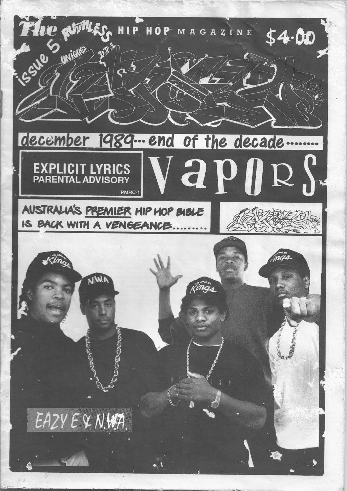 Vapors Hip Hop Magazine