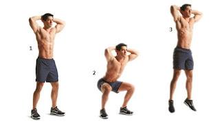 Cara meninggikan badan dengan latihan Squat jump