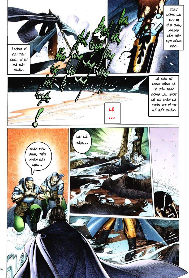 Anh hùng vô lệ Chap 6: Anh hùng hữu lệ trang 10
