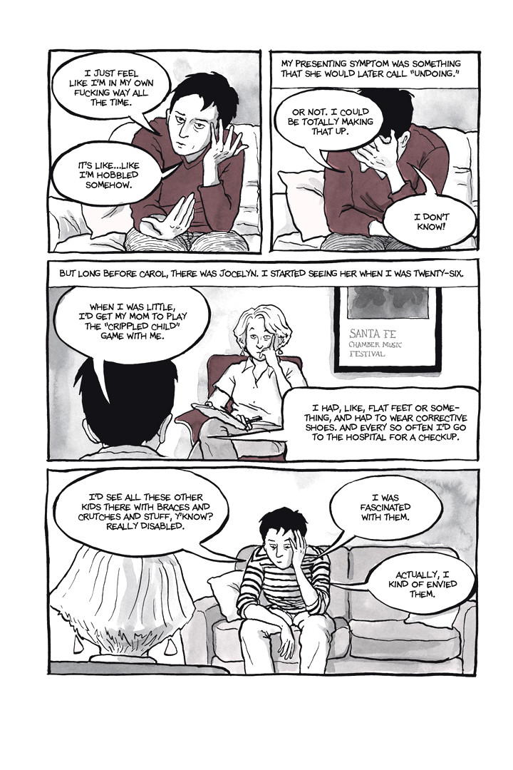 Page 19, Chapter 1: Ordinary Devoted Mother from Alison Bechdel's graphic novel Are You My Mother