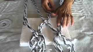 Como hacer una Bufanda de Lana Sin Tejer