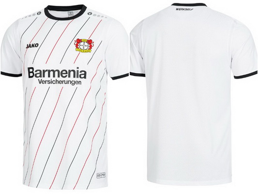 aa3fc8d08 replicas camisetas futbol 2019  camiseta Bayer 04 Leverkusen segunda ...