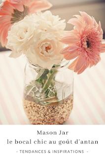 inspirations et idées décoration diy avec des mason jar et bocaux en verre blog unjourmonprinceviendra26.com