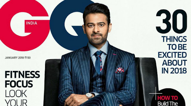 Young Rebal Star Prabhas Features On The Cover of GQ Magazine