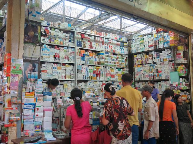 Farmacia de Yangon