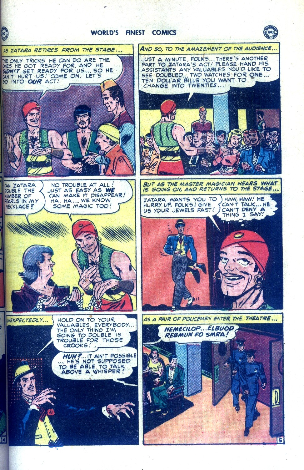 Read online World's Finest Comics comic -  Issue #43 - 55