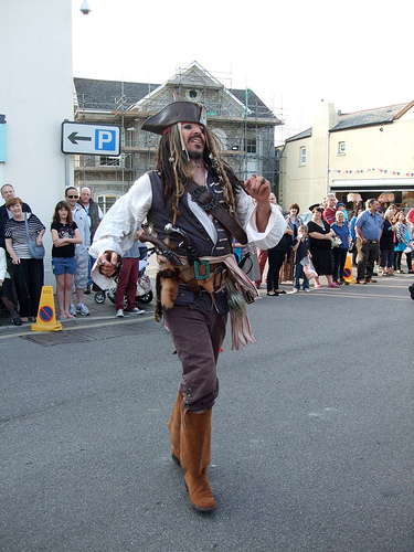 Chudleigh Carnival Pirate