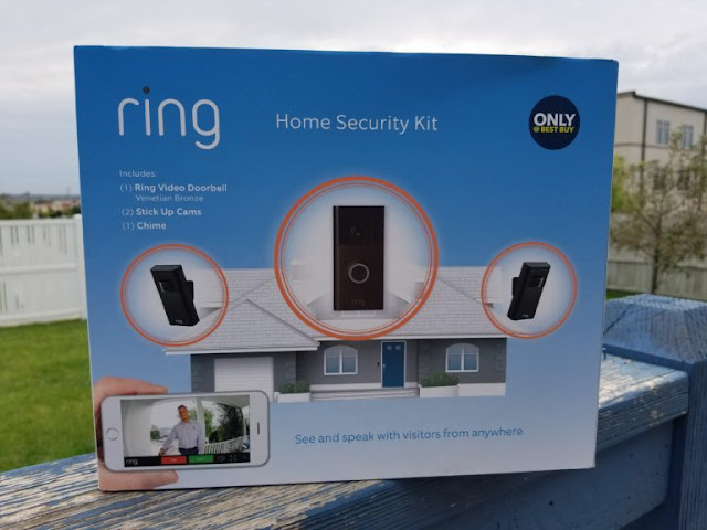 Best Buy Home Security Ring Set International Giveaway