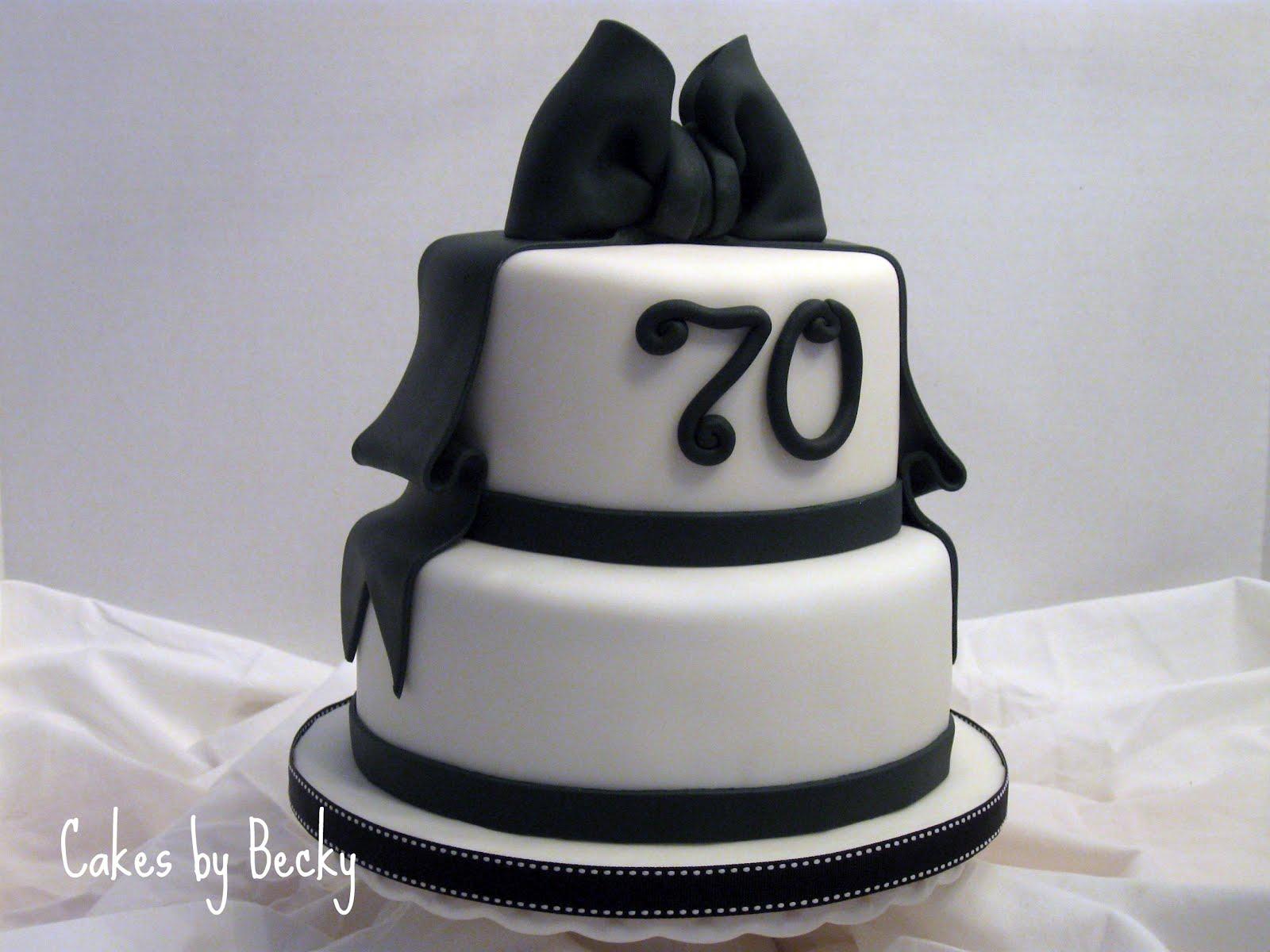 cakes by becky black white birthday