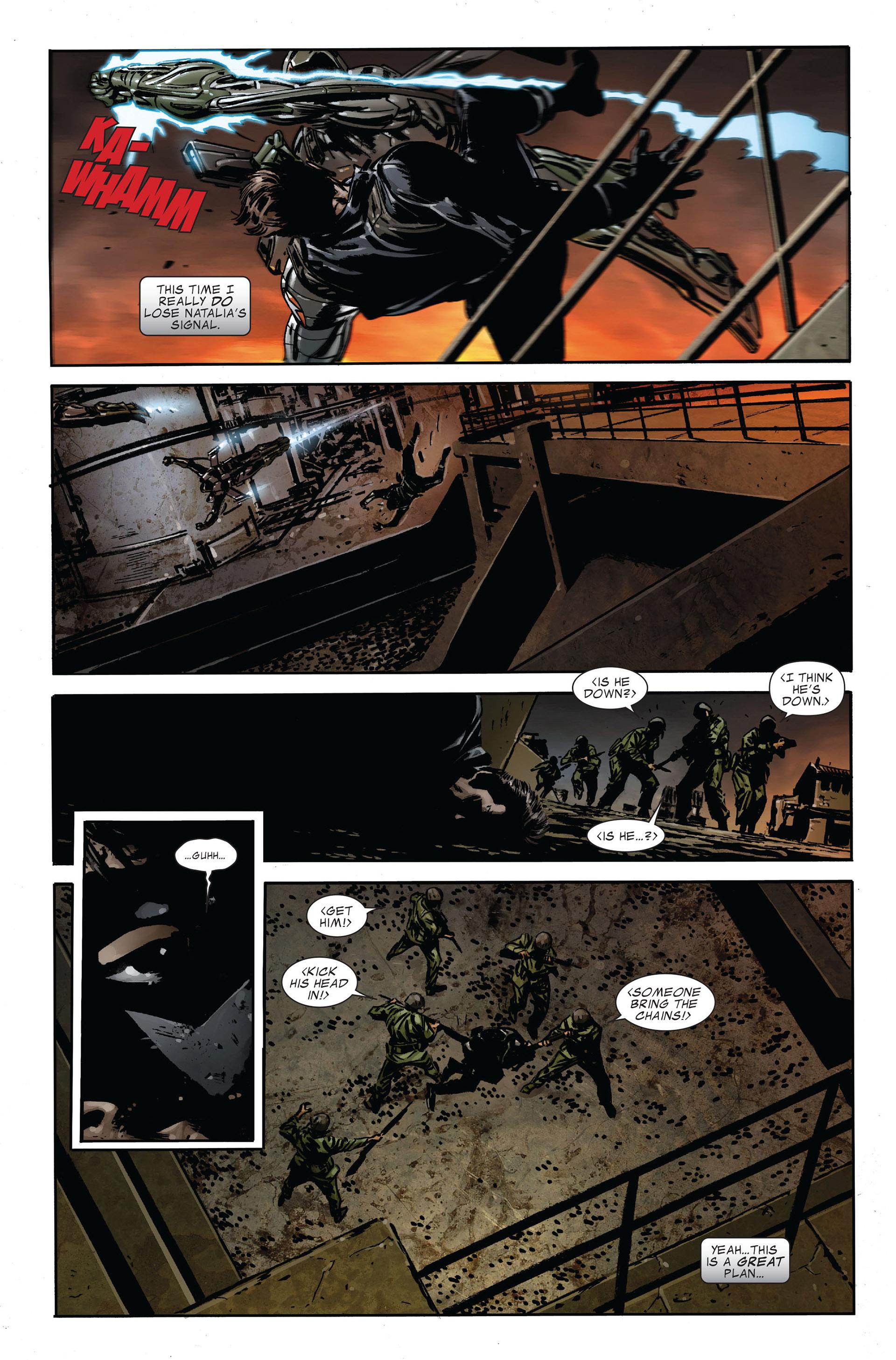 Read online Captain America (2005) comic -  Issue #47 - 9