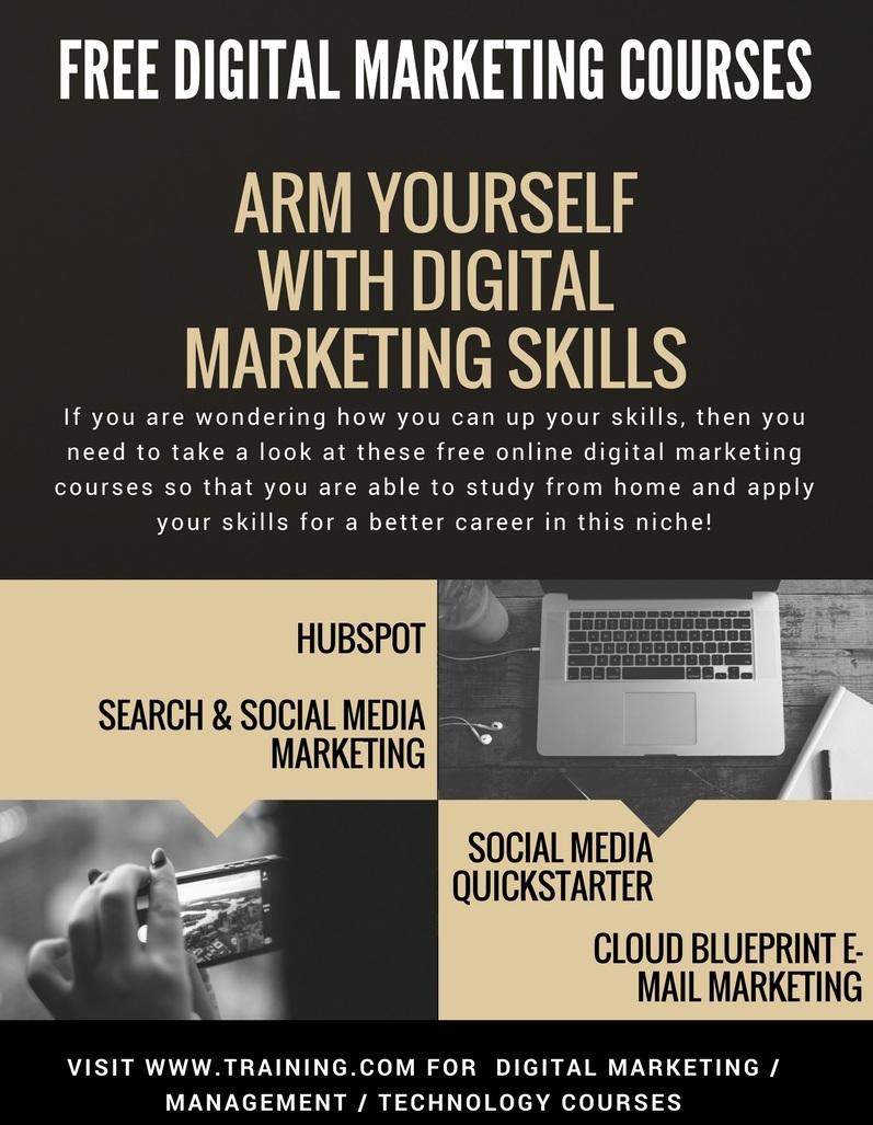 It makes use of addressable direct digital marketing is a method of marketing handled primarily through direct digital c. Training.com Blog: Free Digital Marketing Courses ...
