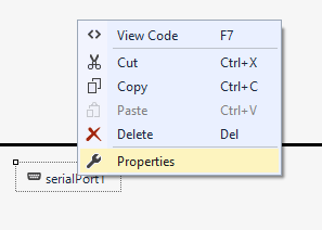 PC graphical interface for Arduino (Using visual studio C