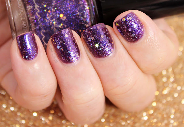 Femme Fatale A Thief in the Shadows Nail Polish Swatches & Review